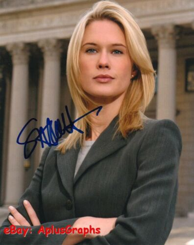 STEPHANIE MARCH.. Law & Order: SVU's A.D.A. Cabot  - SIGNED