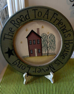 """11"""" Decorator Country Plate"""