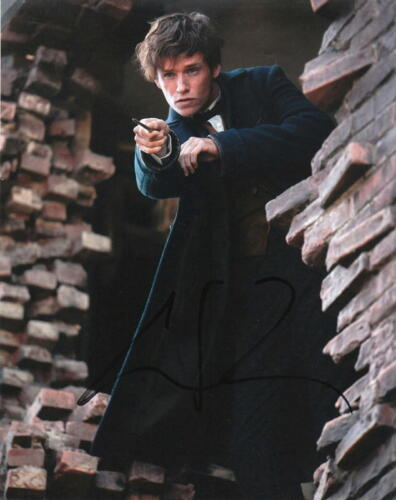 EDDIE REDMAYNE.. Fantastic Beasts and Where To Find Them - SIGNED