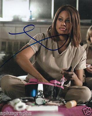 Laverne Cox   Orange Is The New Blacks Sophia   Signed