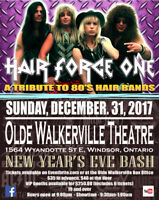 HAIR FORCE ONE-New Year's Eve Bash-The Olde Walkerville Theatre