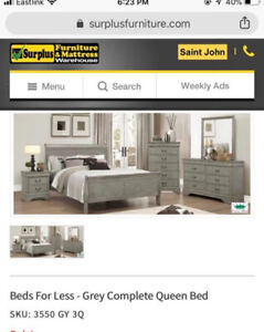 DOUBLE sleigh bed for sale