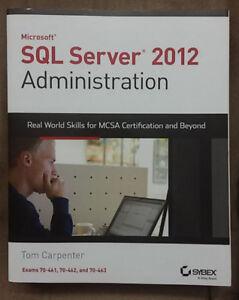 SQL Server 2012 Administration MCSA Exam 70-461/462/463 NEW$60