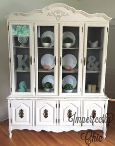 Stunning french provincial hutch