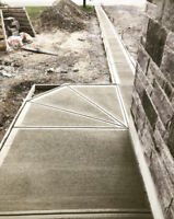 Concrete Walkways, Foundations and more!
