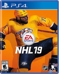 Brand New PS4 NHL 19 Factory Sealed $60 CASH NO NEGOTIATING