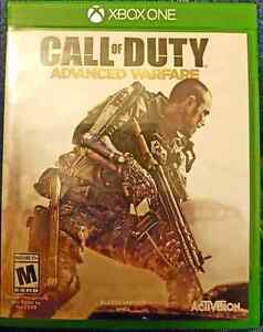 XBOXONE CALL OF DUTY ADVANCED WARFARE FOR TRADE OR MAKE AN OFFER