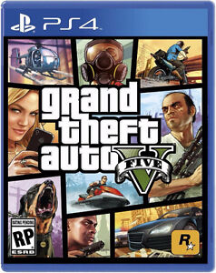 Grand Theft Auto V PS4  Sell or Trade
