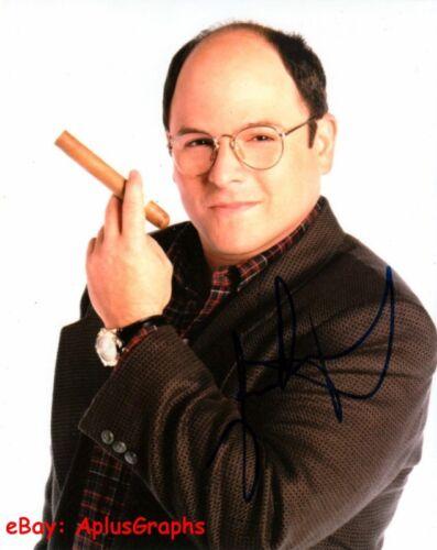 JASON ALEXANDER.. Charming Cigar Aficionado (Seinfeld) SIGNED