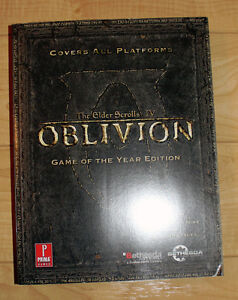 The Elder Scrolls IV OBLIVION Game Of The Year Prima Guide