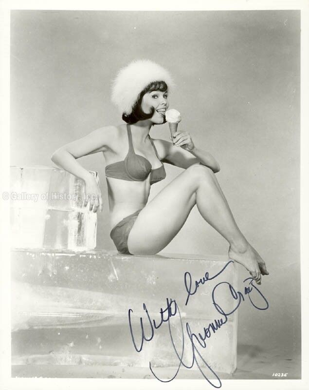 YVONNE CRAIG - PHOTOGRAPH SIGNED