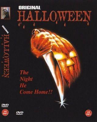 HALLOWEEN DVD NEW READ! ENGLISH, KOREAN VERSION! MICHAEL MYERS, JAMIE LEE CURTIS](Korean Halloween Movie)