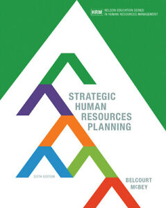 Strategic Human Resources Planning 6th Edition by Belcourt