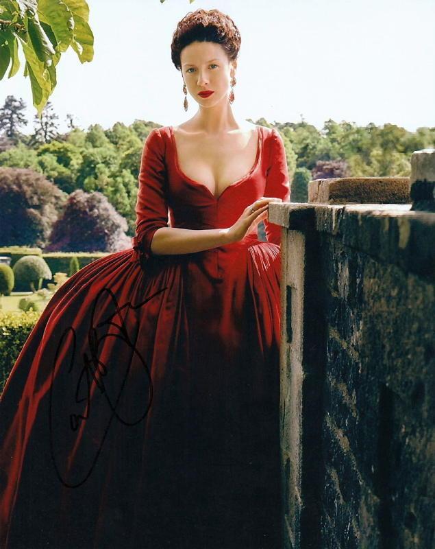 CAITRIONA BALFE.. Outlander Beauty - SIGNED