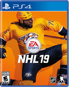 Brand New NHL 19 for PS4
