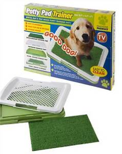 ANIMAL DOG PUPPY PET POTTY PAD TRAINER ANIMAL PET TOILET LITTER TRAINING TRAY