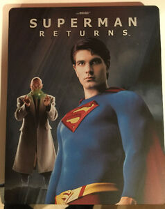 Superman Returns Blu-Ray Steelbook - Bryan Singer, Brandon Routh