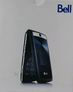LG 280 WINE for Bell CDMA, Flip Phone, Camera, Cell Phone