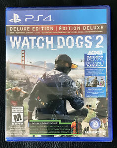 Watch Dogs 2 Deluxe Edition - PS4 - Neuf Scellé