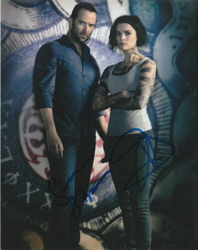 BLINDSPOT.. Jaimie Alexander with Sullivan Stapleton - SIGNED