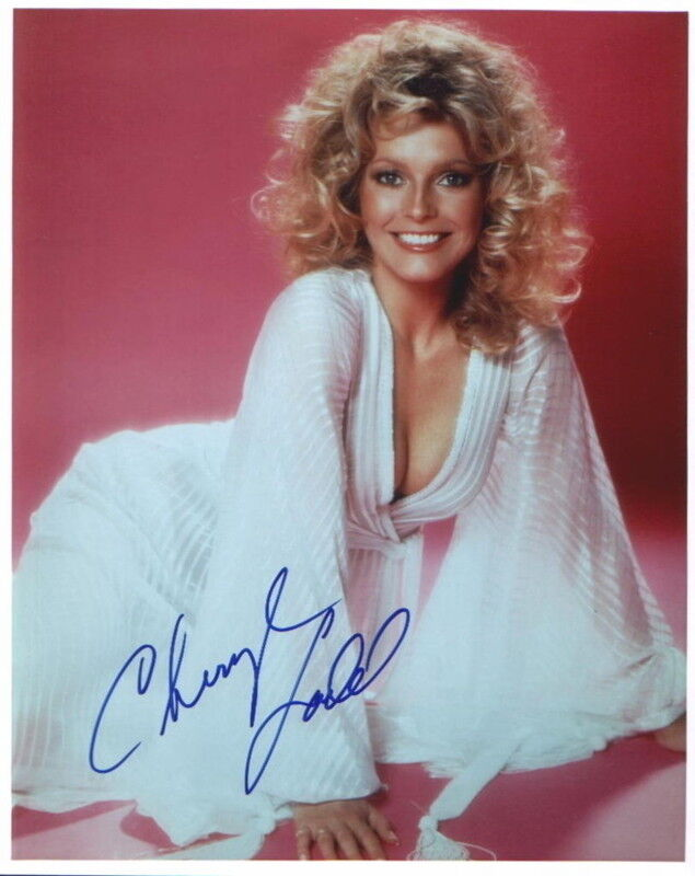 CHERYL LADD.. Breathtaking Beauty (Charlie's Angels) SIGNED