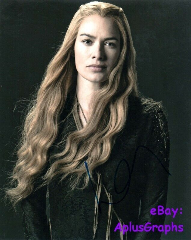 LENA HEADEY.. Game Of Thrones' Cersei Lannister - SIGNED