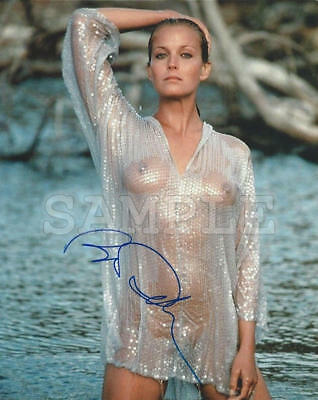 Bo Derek signed 8x10 Autograph Photo RP - Free Shipping!!