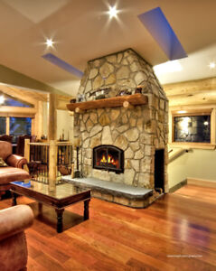Thermostatically Controlled Wood Fireplaces!