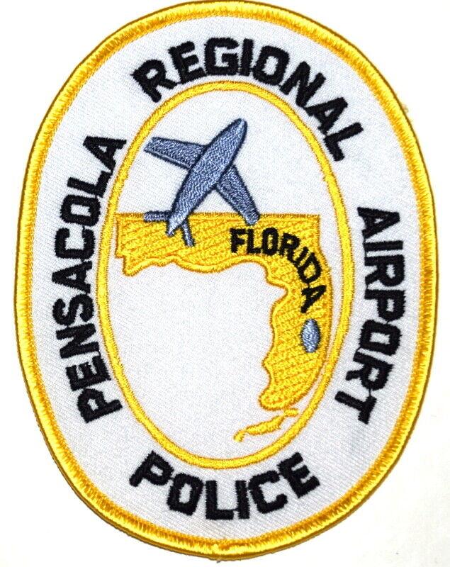 PENSACOLA - REGIONAL AIRPORT - FLORIDA FL Sheriff Police Patch JET AIRPLANE ~