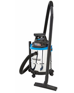 Mastervac 15-L Stainless Steel Wet Dry Vacuum - Brand new in box