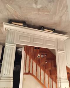 Beautifully Detailed Fireplace Mantel for sale