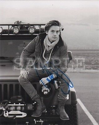 Cole Sprouse signed 5x7 Autograph Photo RP - Free Shipping! Riverdale CW