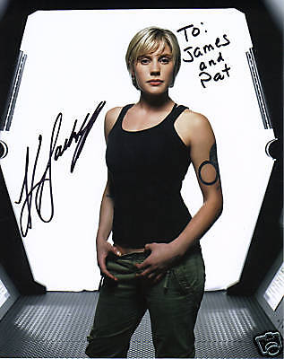 Katee Sackhoff  Autographed 8X10 Photo Picture