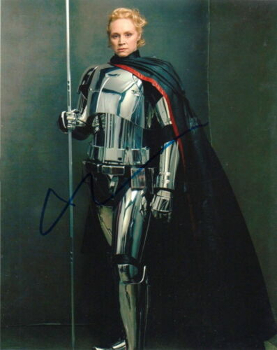 GWENDOLINE CHRISTIE.. Star Wars: The Force Awakens - SIGNED