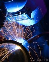 Need it welded?  Small fabrication jobs