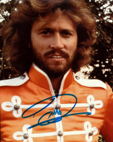 BARRY GIBB.. Sgt. Pepper's Lonely Hearts Club Band (Bee Gees) SIGNED