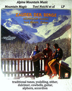 "12"" LP 33 Mountain Magic Alpine music zither dulcimer 1979 new"
