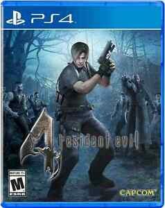 Resident Evil 4 Remastered PS4 comme neuf