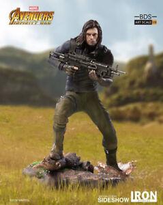 Iron Studios Winter Soldier Avengers: Infinity War 1:10 Diorama