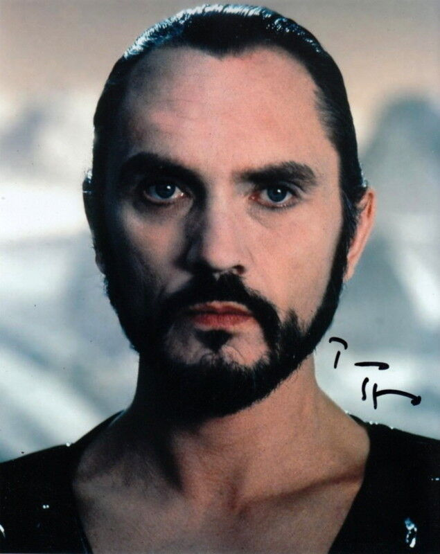 TERENCE STAMP.. Superman 2's General Zod - SIGNED