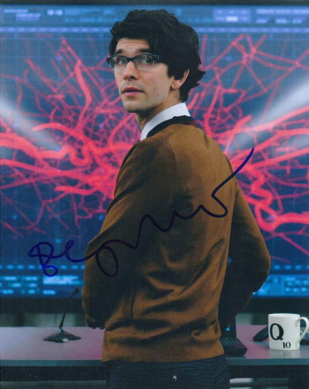 BEN WHISHAW.. Skyfall (Bond 007) SIGNED