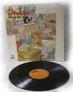 AL STEWART Year of the Cat,  1976 ROCK POP vinyl records LP