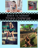 at home fall fitness challenge for a NEW YOU !