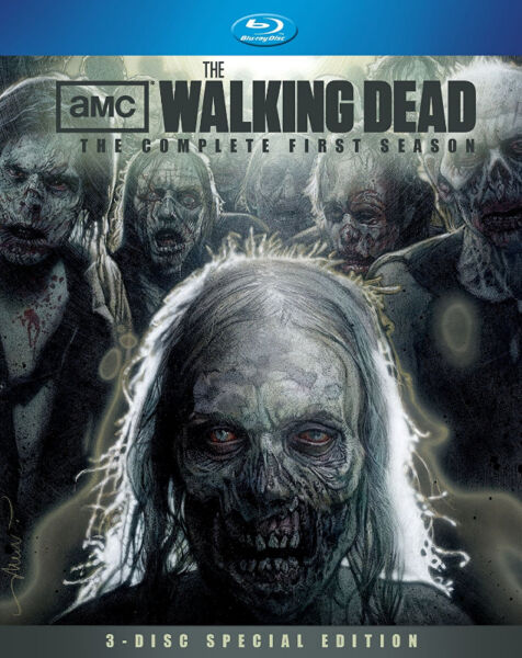 The Walking Dead: Season 1 & 3 Limited Edition Digibook Blu-ray