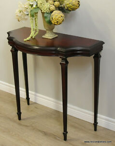 Mahogany Hall Table by Bombay Co.