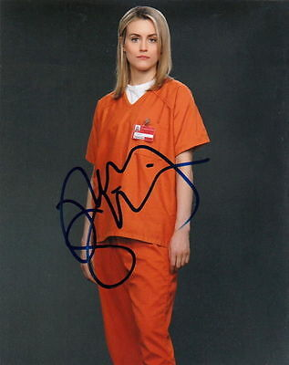 Taylor Schilling   Orange Is The New Black Beauty   Signed