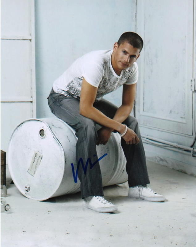 WENTWORTH MILLER.. Prison Break Hunk - SIGNED