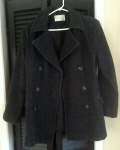 Dark Grey Wool Jacket