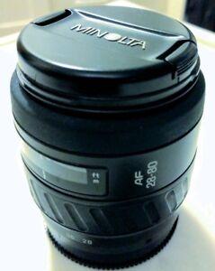 Minolta  AF 28-80mm F4-5.6 , AF 70-210mm F/4 lens A Mount Sony