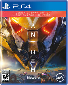 Anthem PS4 Sealed in Packaging